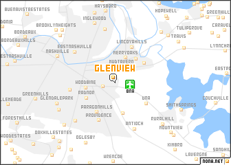 map of Glenview