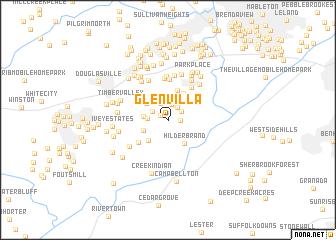 map of Glen Villa