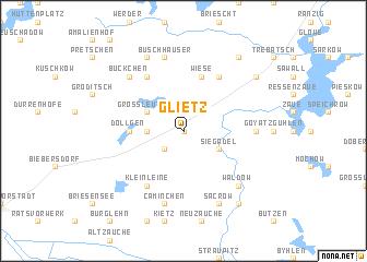 map of Glietz