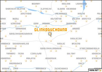 map of Glinka Duchowna