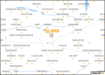 map of Glinka