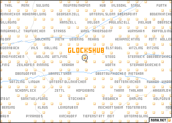 map of Glockshub
