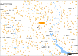 map of Glumina
