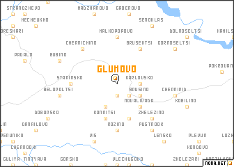map of Glumovo