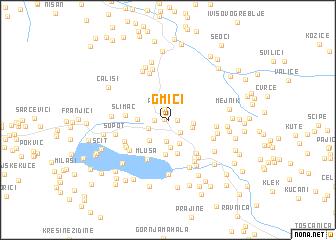 map of Gmići
