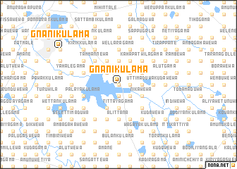 map of Gnanikulama