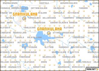 map of Gnanikulama