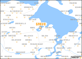 map of Gneve
