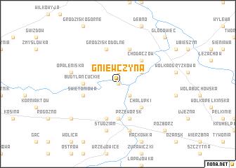 map of Gniewczyna