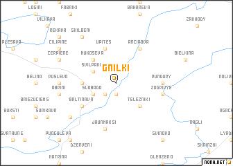 map of Gnilki