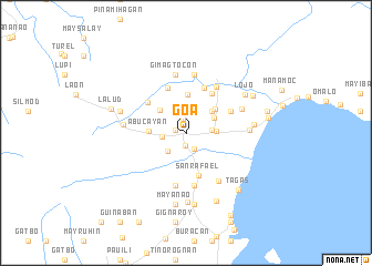 map of Goa