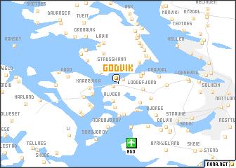 map of Godvik