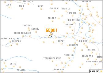 map of Godvi