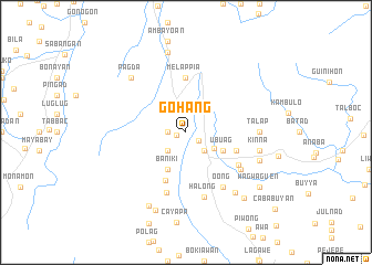 map of Gohang