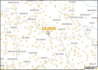 map of Gojava
