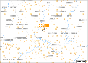 map of Gojra