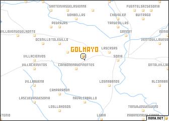 map of Golmayo