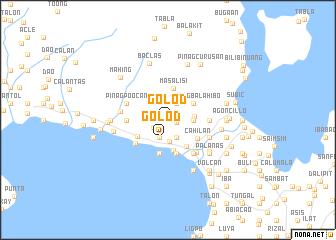 map of Golod