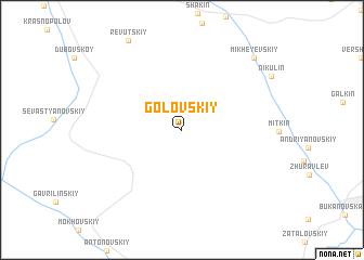 map of Golovskiy