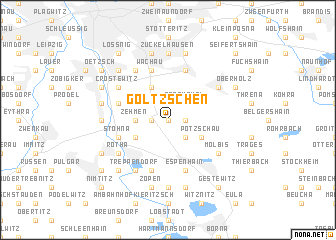 map of Göltzschen