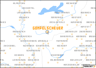 map of Gompelscheuer