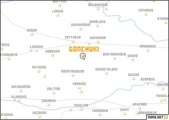 map of Gonchuki