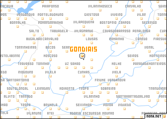 map of Gondiãis