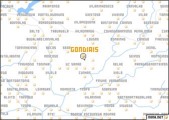 map of Gondiãis