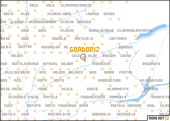 map of Gondoriz