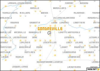 map of Gondreville