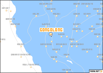 map of Gongolong