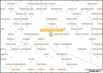 map of Gongoninga
