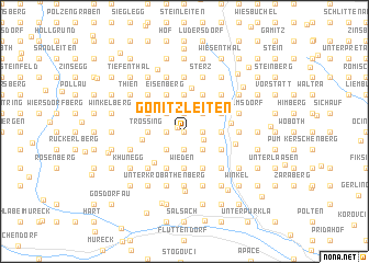 map of Gonitzleiten