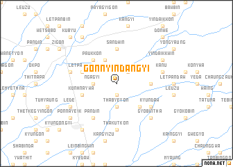 map of Gonnyindangyi