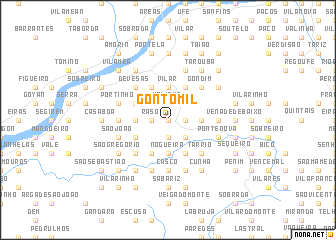 map of Gontomil