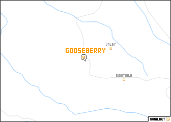 map of Gooseberry