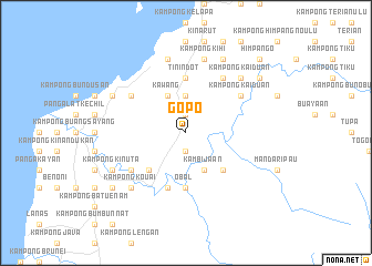 map of Gopo
