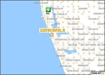 map of Gorakapola