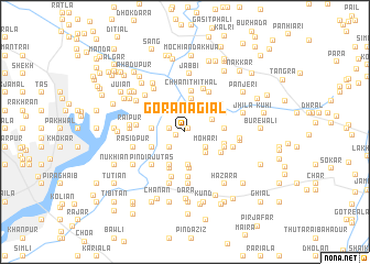 map of Gora Nagiāl