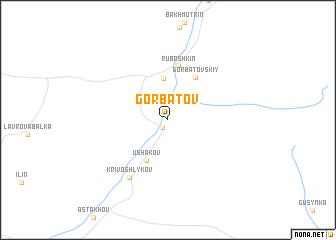 map of Gorbatov