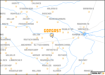 map of Gorgast