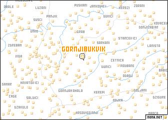 map of Gornji Bukvik