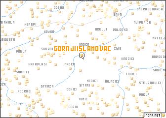 map of Gornji Islamovac