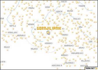 map of Gornji Lipnik