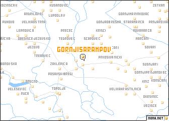 map of Gornji Šarampov