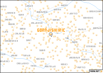 map of Gornji Sikirić