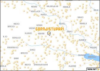 map of Gornji Stupari