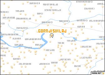 map of Gornji Svilaj
