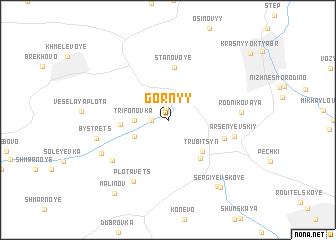 map of Gornyy
