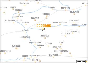 map of Gorodok